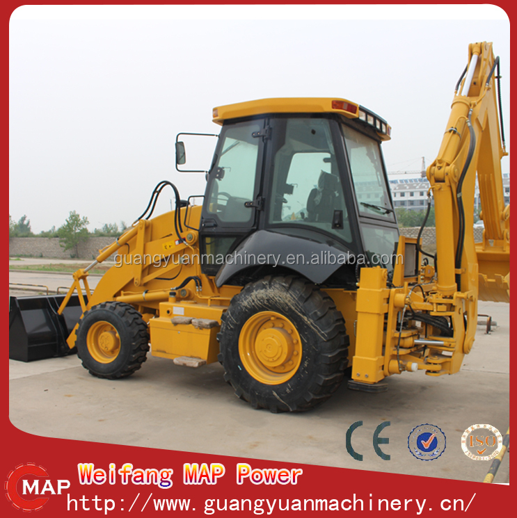 2015 MapPower WZ30-25 type Compact four drive backactor loader