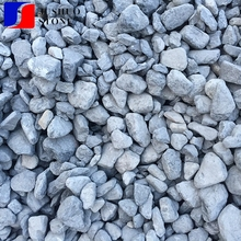 Crushed Aggregates 20mm white color gravel for driveway