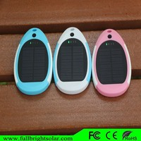 3000mAh Mini Portable portable solar charger window, solar rechargeable mobile phone charger