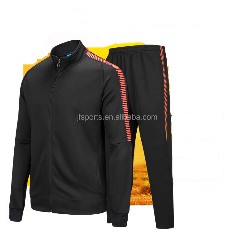 Cool design soccer jacket football tracksuit sportswear traning warm up jacket