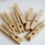 Mini Clothes Pins Plain Small Natural Color