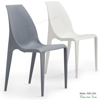 Triumph popular ABS dining room chair / Italian design plastic chair for hotel outdoor chair