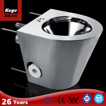 Kuge 304 Stainless Steel used portable prison toilet for sale