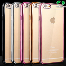 Directly from china wholesale cell phone accessories ultra-thin transparent tpu protective phone shell case cover for Iphone 6