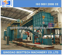 High efficiency automatic casting equipment, resin sand processing production line