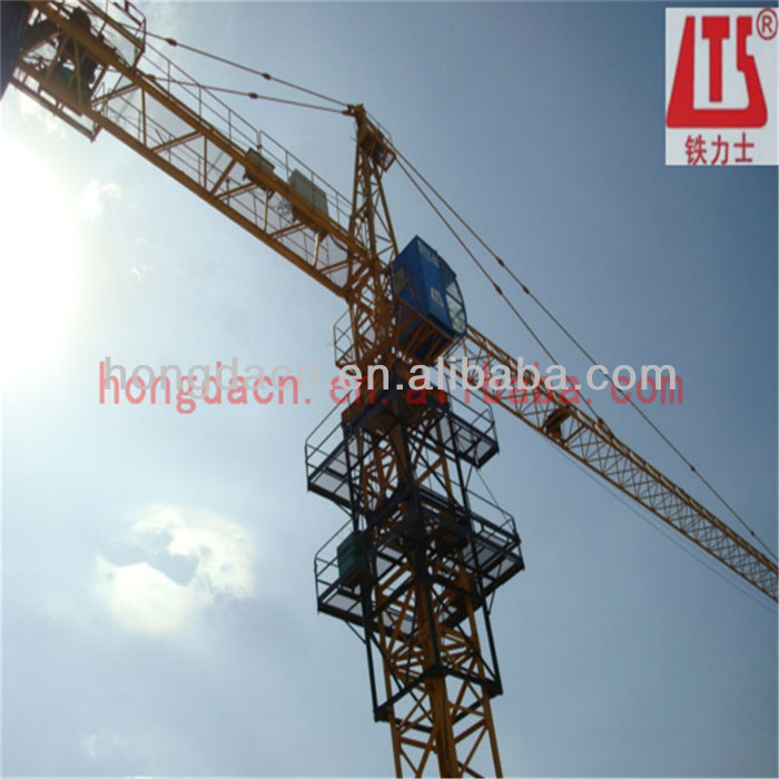 6t hydraulic fixed Tower Crane QTZ63 5211