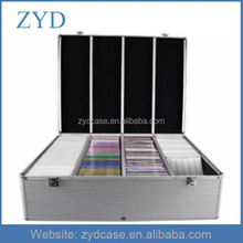 1000 Disc Silver Aluminum CD/DVD Storage Box Case ZYD-HZMdc009