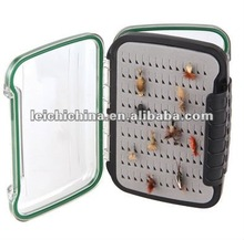 2012 New product!! Clear Waterproof Plastic fly fishing box