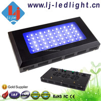 2015 promotion dimmable led aquarium light 165w with good quality led chip pure color for fish tank or coral