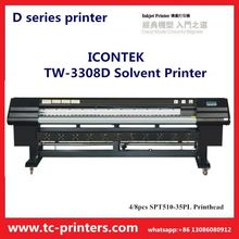 High quality best price 3.2m Infiniti Challenger Icontek TW-3308D Large format solvent printer