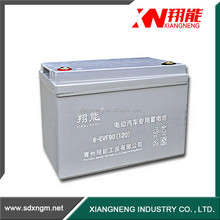 12V 90Ah Deep cycle electric vehicle battery