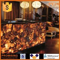 PFM Chinese popular luxury onsale agate semiprecious stone slabs for hotel&villa project design