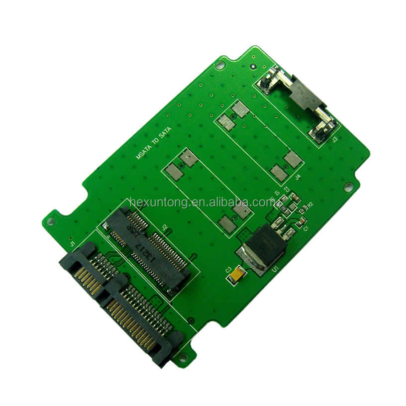 70MM MINI PCIE/MSATA mini SATA SSD to 2.5 inch SATA Converter Adapter mSATA-SATA card
