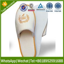 disposable customized hotel slipper mens slide slipper EVA sole