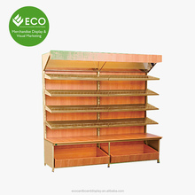 Large Contain Mix Material Pallet Display Racks For Bread/Fruit Display