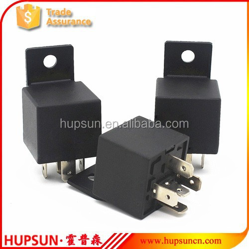 free sample universal type automobile relay auto 1Z 5PIN SPDT 24v 50a auto relay 12v 50a