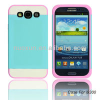 2014 New arrivals 3 in 1 pc tpu shell case for samsung galaxy s3