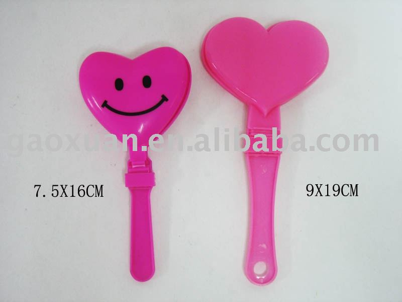 Heart Shape Clappers