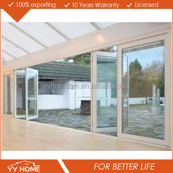 new technology aluminium bifolding doors made in china
