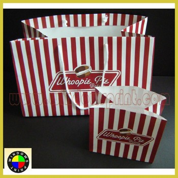 Custom Printed Recycle Food packaging bag/Paper Food Bag