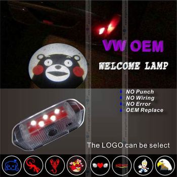 Good Quality High Brightness led logo light,logo welcome light led light bar