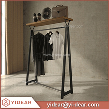Cloth Display Stand Rack, Clothes Display Shelf for Shop Clothing Store