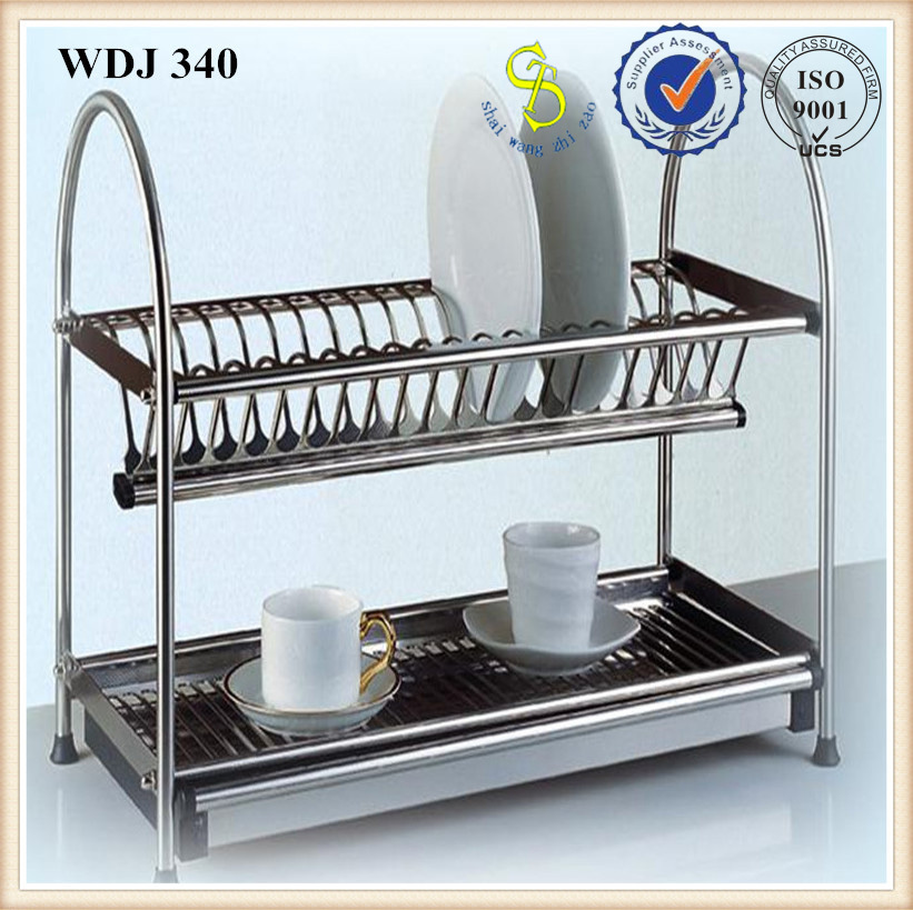 stainless steel kitchen dish rack for drying water ( guangzhou factory ) & stainless steel kitchen dish rack for drying water ( guangzhou ...