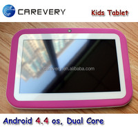 7 inch 8GB kids laptop computer, android 4.4 quad core kids 7 inch tablet mid, kids education tablets