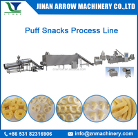 220kg/h Expanded Puffing Grain Corn Rice Snack Stick Making Machine