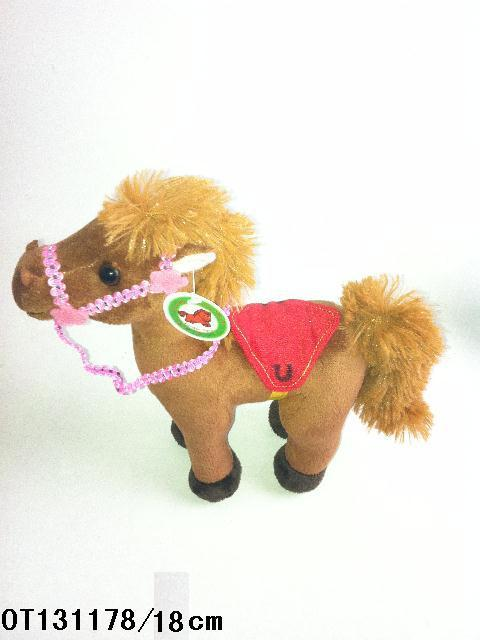 oriland new design plush toy horse stuffed animal toy