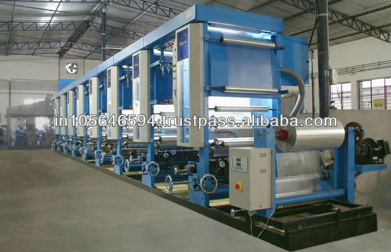 Used Two Colour Roto Gravour Printing Machine