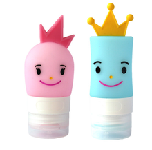 Lovely Prince Princess Travel Bottles Containers