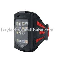 Mesh Sport Armband Neoprene Sleeve for iPhone 4