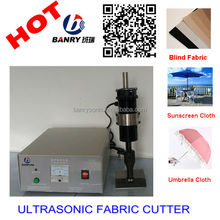 Straight cutter Sunscreen fabrics Cutting machine Ultrasonic Roller Blind Fabric Cutting Machine
