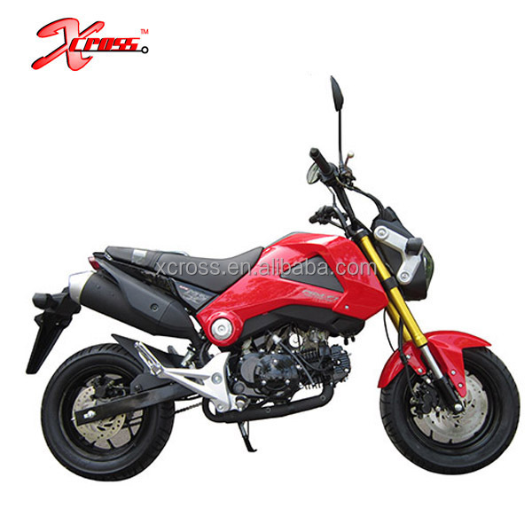 Chinese Cheap 125CC Motorcycles Small street Motorcycle 125cc Monkey bike MSX 125 For Sale Monkey120
