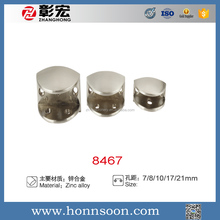 universal zinc alloy/aluminum glass clamp in cabinet/display case