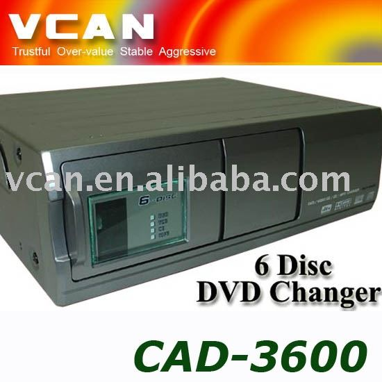 6-disc car CD dvd changer