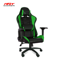 Good selling computer gaming akracing modern office chair with green color