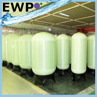 Different sizes Natural high pressure frp water tank