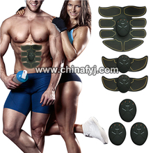 Abdominal Toning Belt EMS ABS Toner Body Muscle Trainer for Abdomen/Arm/Leg Training Home Office Exercise Equipment