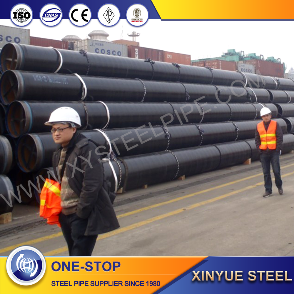 540mm 2400mm diameter high quality astm a252 api 5l lsaw steel pipe from manufacturer