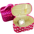 Korea style wholesale new portable cosmetic bag travel hand cosmetics bag