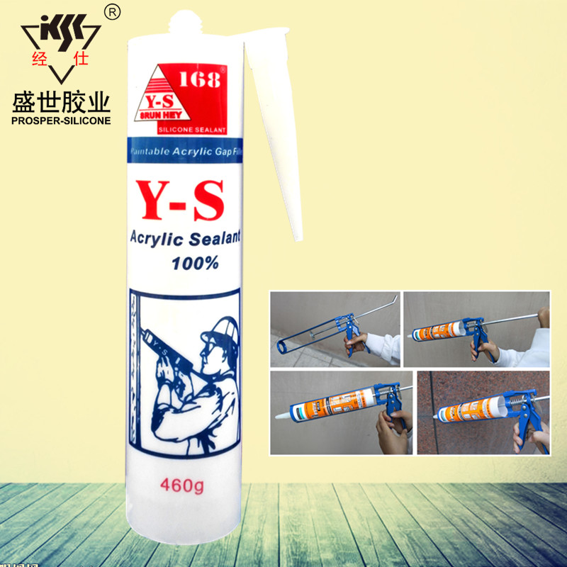 Indoor and Outdoor Paintable Flexible Seals Metal Air Tight Seal Acrylic Sealant Gap Filler