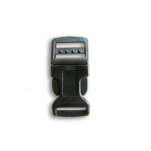 "Plastic Buckel, 5/8"" Side adjustable plastic release buckle"