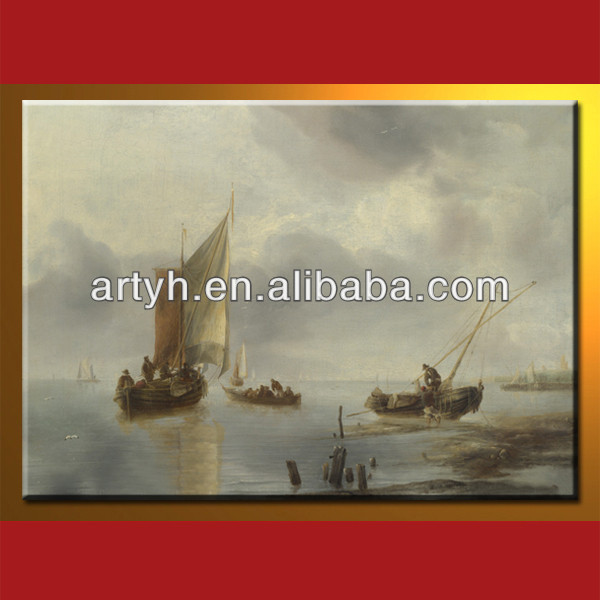 High Quality Ship And Sea Oil Painting (Direct Sale)