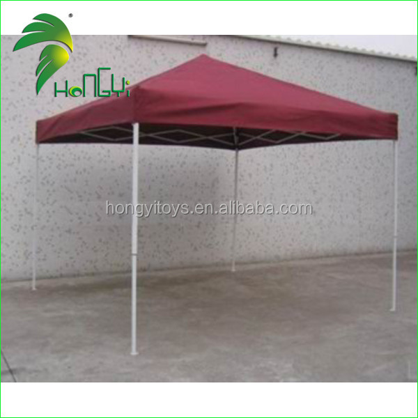 Advertising Oxford Cloth Folding 4*4 Canopy Tent / Sun Shade Tent With Sides