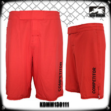 judo uniform fabric sublimated mma shorts red mma shorts