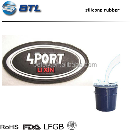 2018 Liquid Silicone Rubber Manufacture High Quality Silicone Rubber For Silicone Label