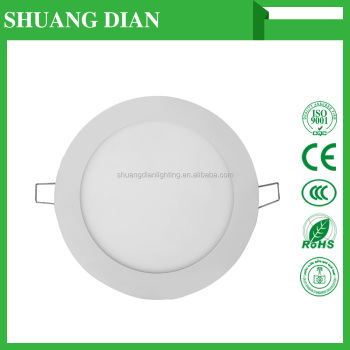 Shuangdian lighting LED panel lights 18W 30000H Wholesale Cheap 200V 240V SMD 2835 3000K 6500K low price
