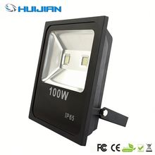 RoHS black and white 24 volt outdoor led flood light